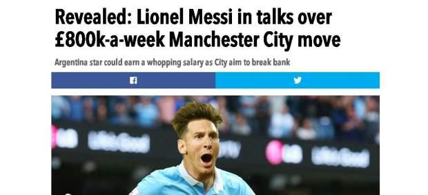 Messi y el City
