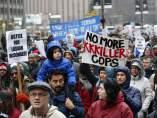 Manifestación en Chicago
