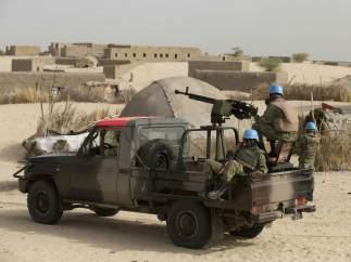 Cascos azules en Mali
