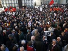 """""""No en nuestro nombre"""": miles de manifestantes, contra la guerra en Siria"""