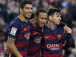 Su�rez, Neymar y Messi
