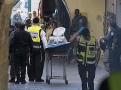 Muere un palestino tras apu�alar a un polic�a israel� en Jerusal�n