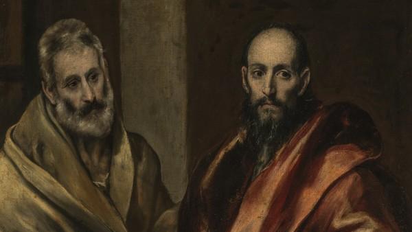 El Greco (Doménikos Theotokópoulos, 1541–1614) - The Apostles Peter and Paul, 1587–92