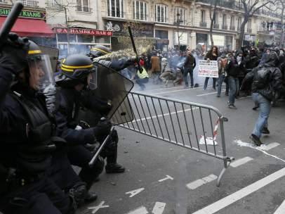 Disturbios en Par�s