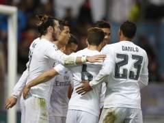 Bale y Cristiano rescatan a un gris Madrid en su visita al Eibar