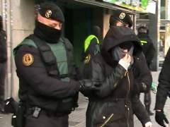 Prisi�n para los tres presuntos yihadistas detenidos el s�bado en Barcelona