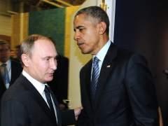 Putin se reune con Obama en Par�s y cierra la puerta a hacerlo con Erdogan