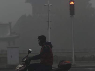 Alerta naranja contaminaci�n Pek�n