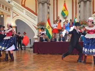 'La cueca', patrimonio inmaterial de Bolivia