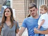Sara Carbonero, Iker Casillas y Martín