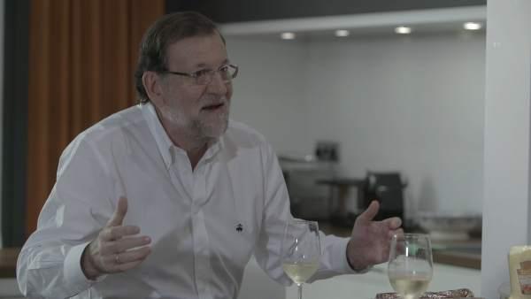 Mariano Rajoy en el programa de Bertín Osborne