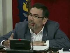 El alcalde de Cartagena, Jos� L�pez.