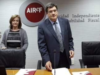 La rueda de prensa de AIReF