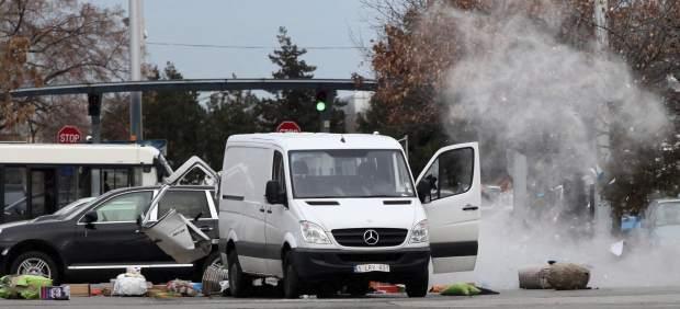 Explosión controlada en el aeropuerto de Sofía