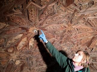Dibujos ocultos en la Alhambra