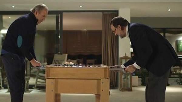 Rajoy con Bertín Osborne