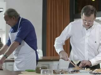 Rajoy y Bertín