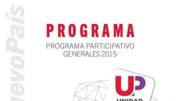 Programa electoral de Unidad Popular