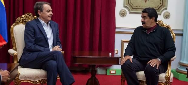 La oposición venezolana le dice a Zapatero que no habrá diálogo sin revocatoria