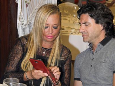Toño Sanchís y Belén Esteban en el pasado mes de mayo.