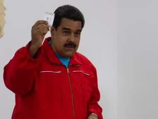 Nicolás Maduro elecciones Venezuela 2015.