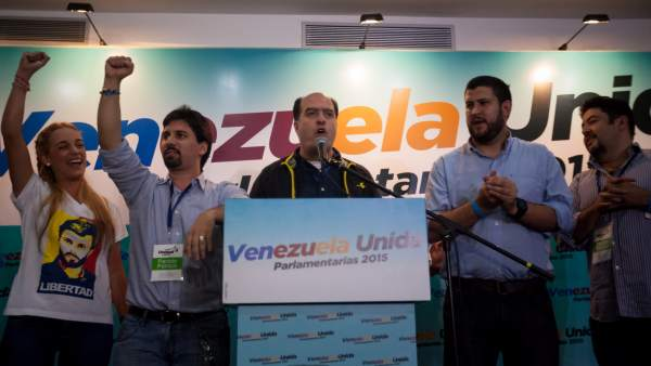 La coalición opositora Mesa de Unidad Democrática