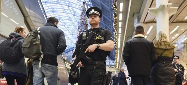 imágenes británica policía terrorista ataque tenía londres unido