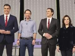 El debate a cuatro entre Rajoy, Sánchez, Iglesias y Rivera será el 13 de junio en la Academia de Televisión
