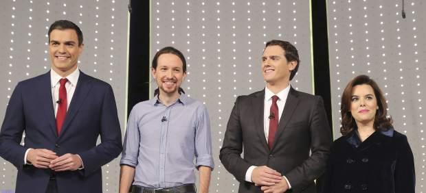El debate a cuatro entre Rajoy, Sánchez, Iglesias y Rivera será el 13 de junio en la Academia