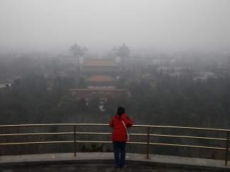Alerta roja en Pekín