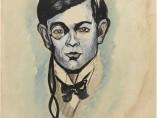 Francis Picabia (1879-1953), Portrait de Tristan Tzara, 1918