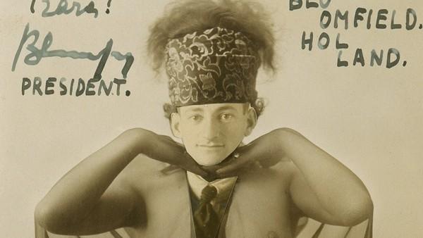 Erwin Blumenfeld - Bloomfield, President-Dada-Chaplinist, 1921