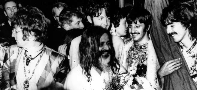Los Beatles y su gurú indio