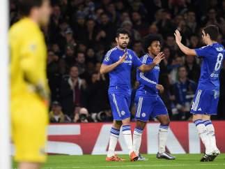 Gol del Chelsea a Casillas