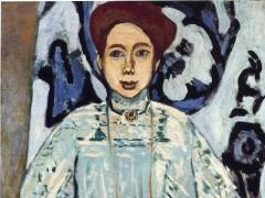Henri Matisse, Portrait of Greta Moll, 1908