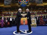 Ceremonia de entrega de los Nobel 2015