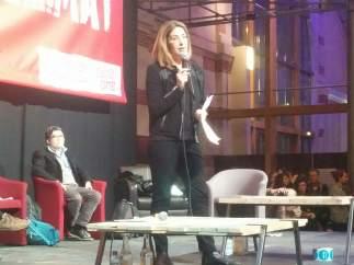 Naomi Klein, en la ZAC