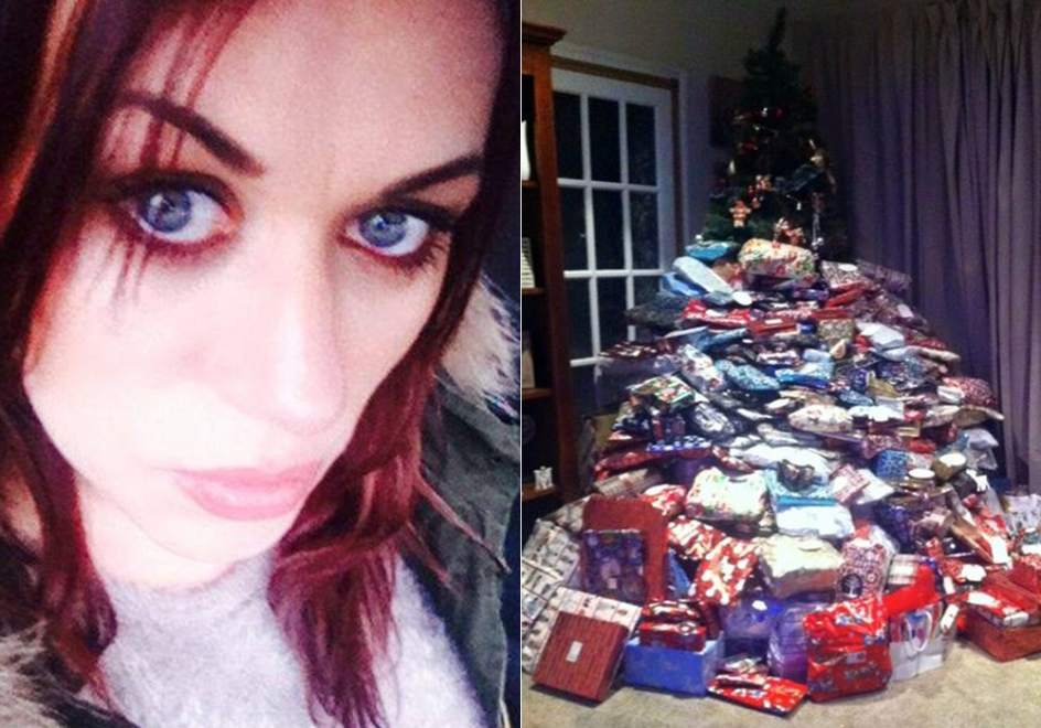 Lluvia de cr ticas a una madre en facebook por su monta a - Regalo navidad mama ...