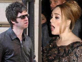 Adele y Noel Gallagher