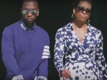Michelle Obama, a ritmo de rap