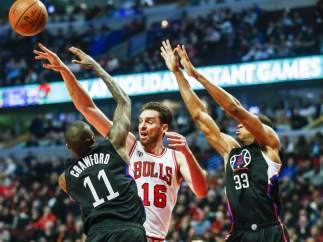 Gasol ante Jamal Crawford con los Bulls