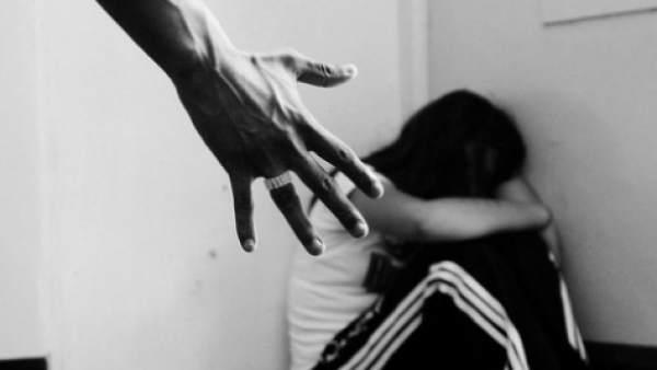 Una imagen de violencia doméstica.