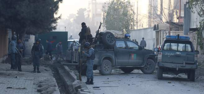 Ataque en Kabul