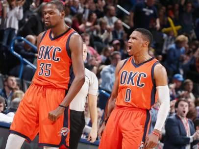 Westbrook y Durant