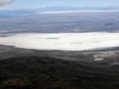 Un lago convertido en desierto