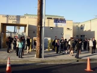 Amenaza en las escuelas de Los Ángeles
