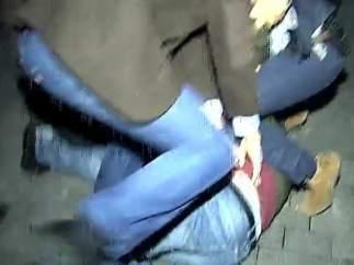 Detención del joven que ha agredido a Mariano Rajoy