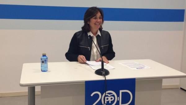 Beatriz Escudero, número uno del PP por Segovia