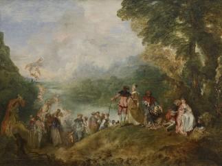 Antoine Watteau, Pilgrimage to Cythere island, 1717