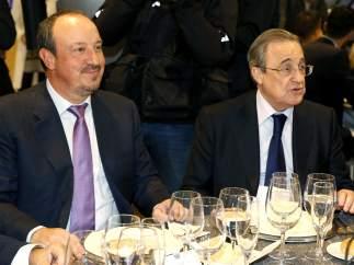 Rafa Benítez y Florentino Pérez